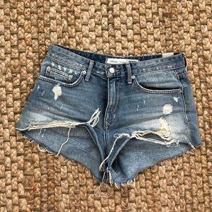 Lover + Friends Jean shorts